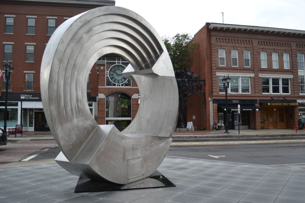 Taper Deco, the work of artist Rob Lorenson, was recently installed at the corner of North Main and Capitol streets as part of the public art initiative through a partnership with Creative Concord and the city. TIM GOODWIN / Insider staff