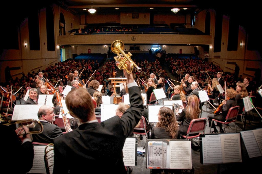 Symphony NH, with soloist Marza Merophi Wilks and guest conductor Stefano Sarzani, will perform at Concord City Auditorium on March 10. Courtesy of Symphony NH