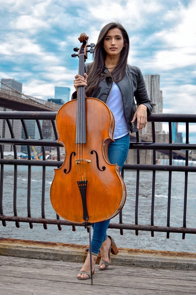 Cellist Marza Merophi Wilks will be the featured soloist for Symphony NH's performance at Concord City Auditorium on March 10. Courtesy of Symphony NH