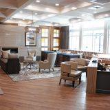 The Hotel Concord offers upscale stays with upscale views of downtown Concord