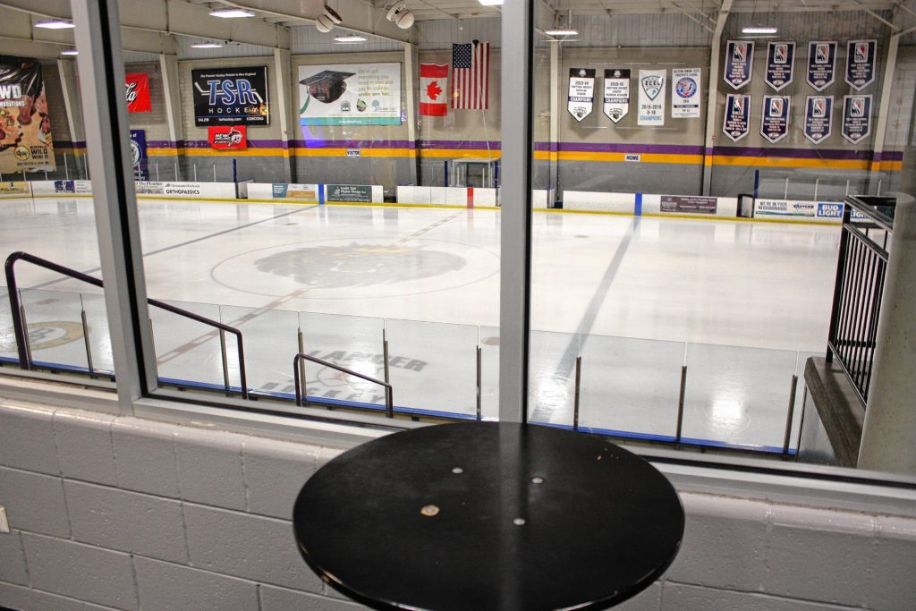 Tri-Town Ice Arena in Hooksett is serious about hockey. There are two full-size rinks that stay in year-round -- there's no dry season at this arena. What there is, though, is a dentist's office, a TSR Hockey retail pro shop, a private workout/training room and even an outdoor rink for Dek Hockey, an old version of street hockey. JON BODELL / Insider staff