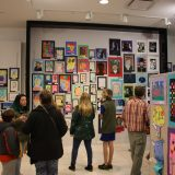 Check out some fine student artwork at Steeplegate Mall during Youth Art Month