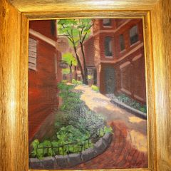 On Display II: Paintings by Patty Fazio at the NHTI library for the month of March