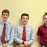 These three students from St. John Regional School have reached some impressive achievements