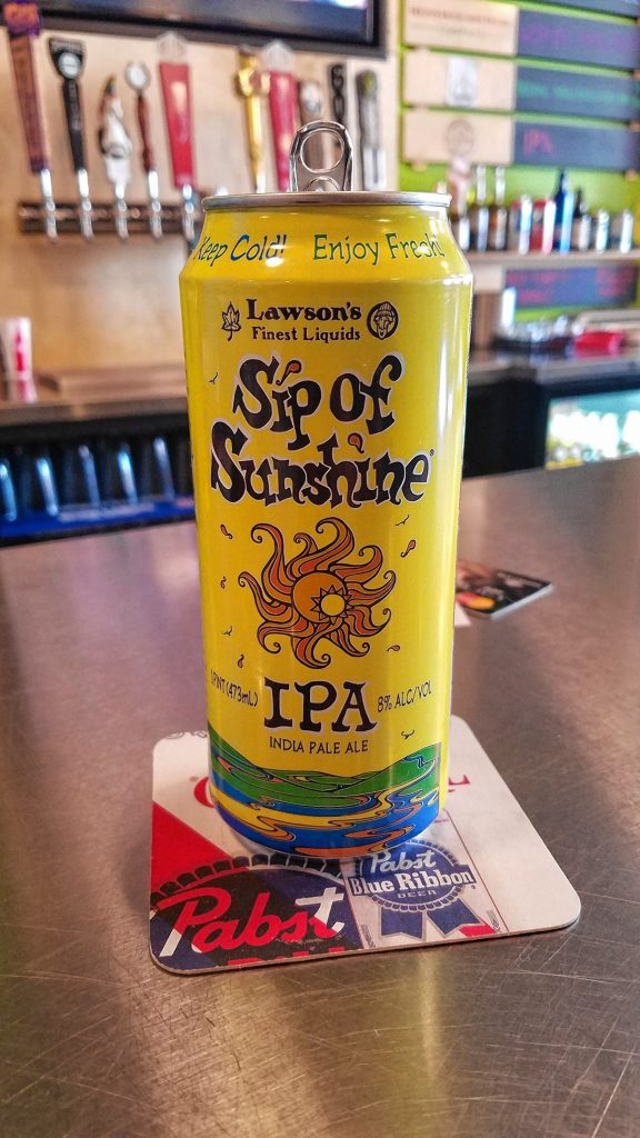 Lawson's Finest Liquids Sip of Sunshine IPA from Dos Amigos. JON BODELL / Insider staff