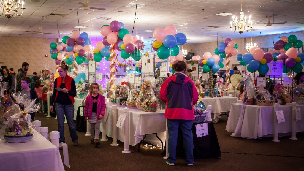 Scenes from Eggstravaganza at the Bektash Shrine Center in Concord on Friday, April 7, 2017. The event continues on Saturday and Sunday. (ELIZABETH FRANTZ / Monitor staff) Elizabeth Frantz