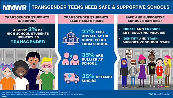 Statistics on Transgender teens