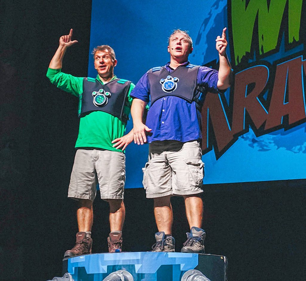 Wild Kratts 2.0 is coming to the Capitol Center for the Arts on April 9 and 10. You won't want to miss this wild adventure! Courtesy of Capitol Center for the Arts