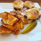Food Snob: Pulled Pork Sliders from Federal's Cafe