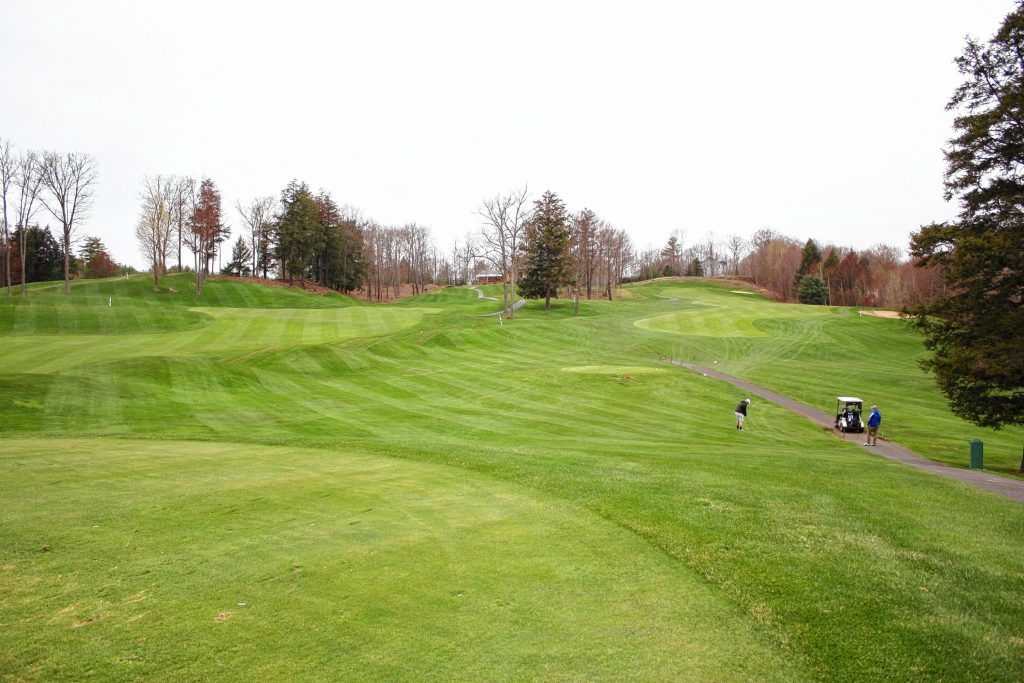 Lochmere Country Club in Tilton is one of the more picturesque courses in the area, and it's open to the public.  JON BODELL / Insider staff