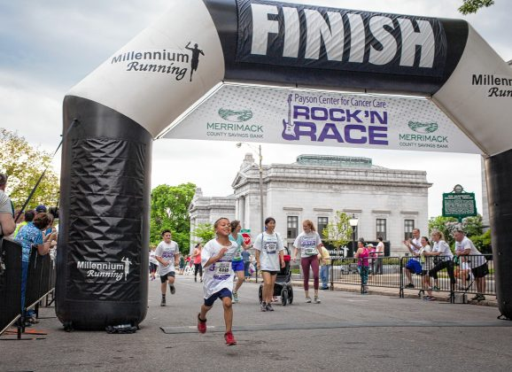 Lace 'em up for a good cause and hit up the 2019 Rock 'N Race