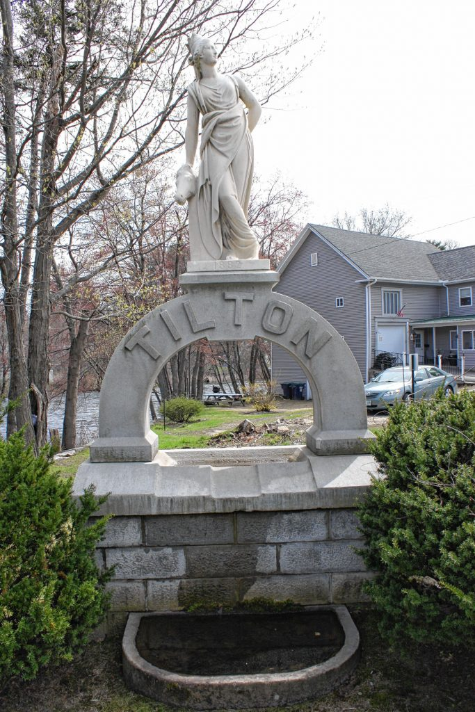The town of Tilton is adorned with many statues, purchased by Charles Tilton, the defacto father of the town. Tilton was the wealthiest resident in town back in the 1800s, a fourth-generation descendant of the town's original settler, and he wanted his town to be among the most beautiful in the country. Apart from all the statues, Tilton also built the Tilton Memorial Arch and revamped the Tilton Island Park, among other things. JON BODELL / Insider staff