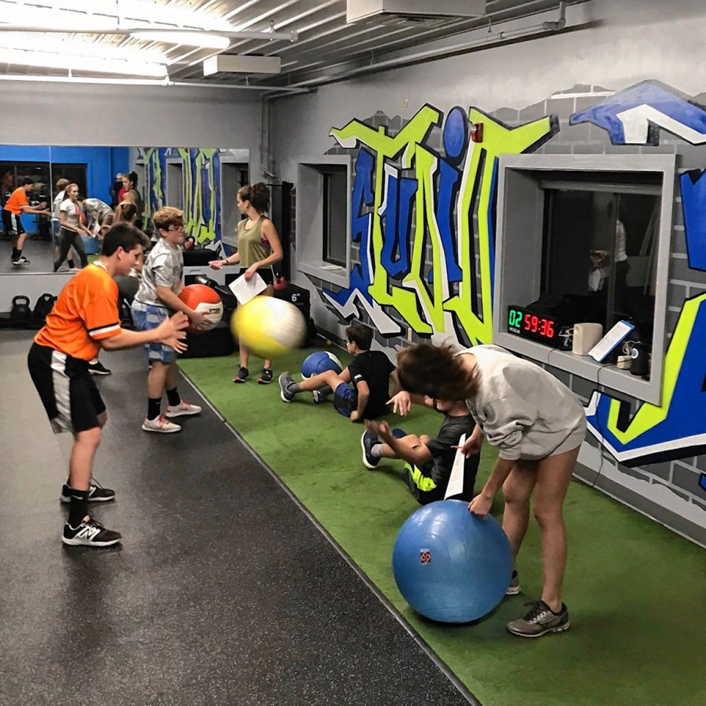 If there's one way to maximize your chances of staying on the field all season long, it's doing plenty of offseason strength training to prepare your body for the grind. Courtesy of Crystal Reynolds