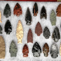 Flint knapper George Leduc to demonstrate arrowhead making at Traditional Craft Days