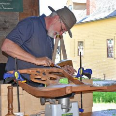 Check out some old-world skills at Canterbury Shaker Village's Traditional Craft Days