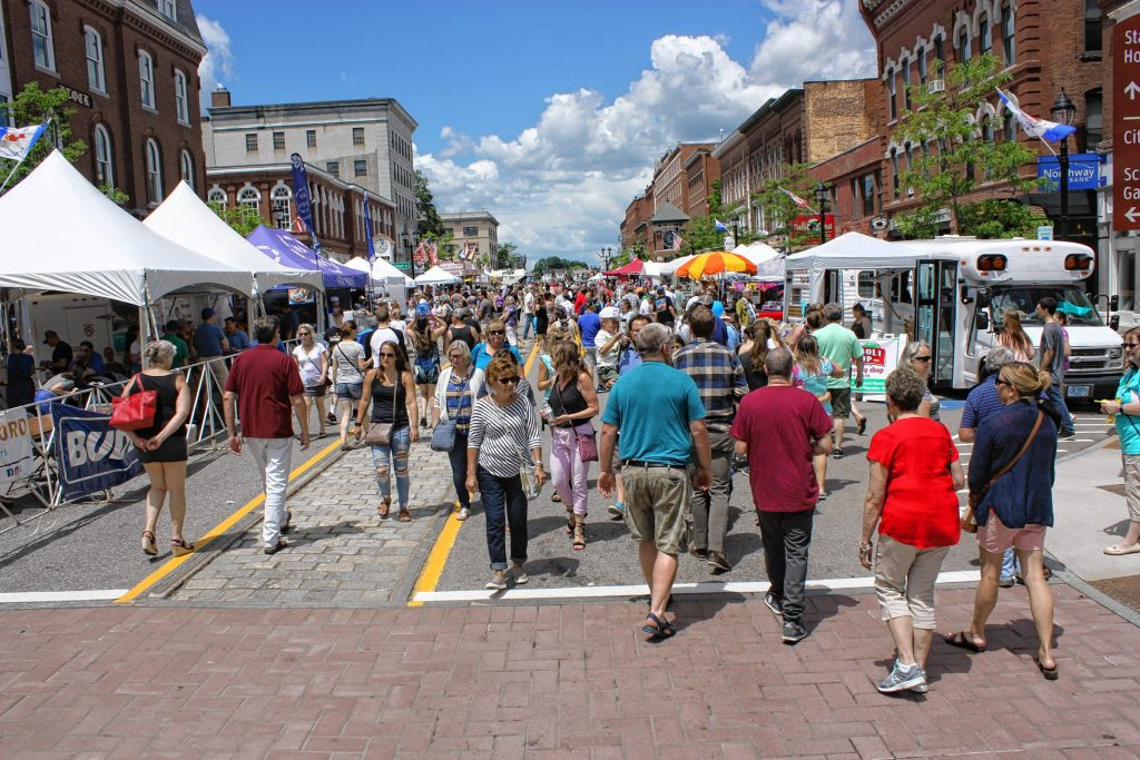Main Street was absolutely packed on a beautiful Saturday afternoon during Market Days. JON BODELL / Insider staff