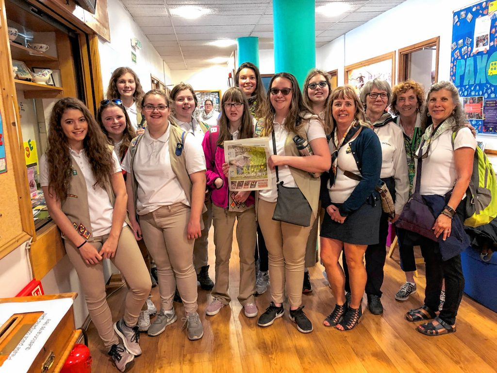 Concord Girl Scout Troop 20507 took a trip to London at the end of April. Here they are at Pax Lodge, which is one of the five Girl Scout World Centers and the only one in England. The others are in Mexico, India, Switzerland and Africa. Thanks for bringing us along, ladies! We're sure you represented Concord to the fullest in your trip across the pond – after all, you did bring a copy of the Insider, and it doesn't get more Concordy than that. Courtesy of Pat Edwards