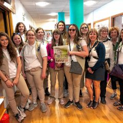 On the Road: The 'Insider' tags along on a Girl Scout trip to London