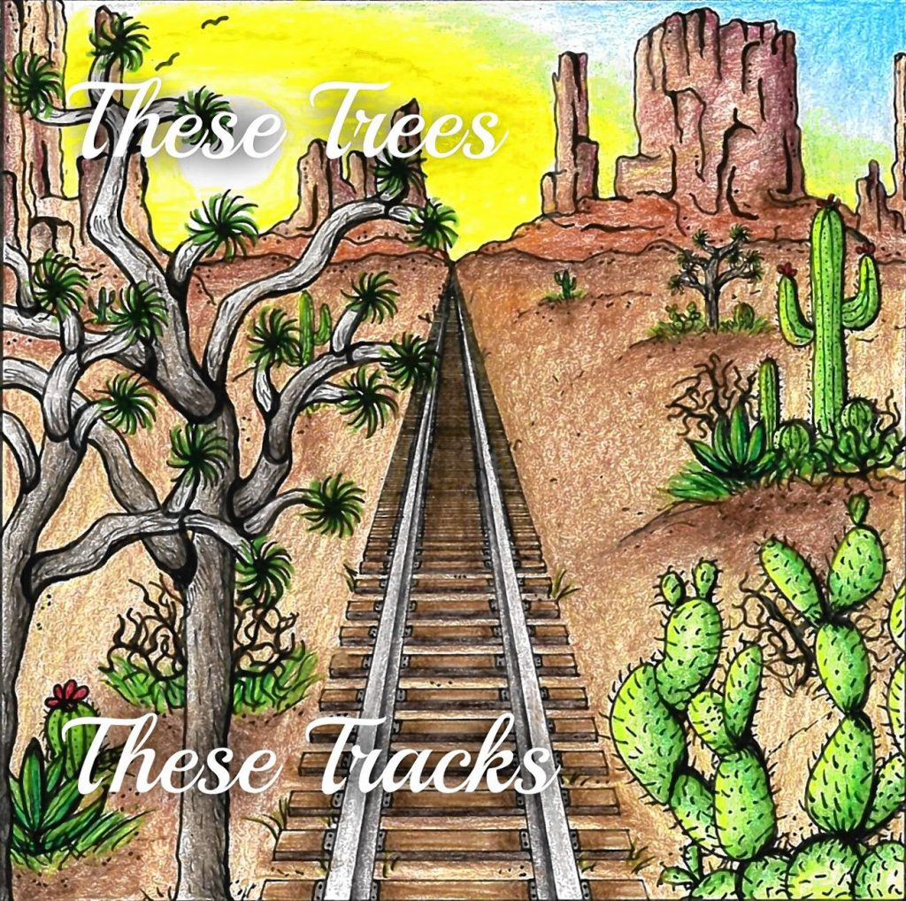 These Tracks is the debut album for local band These Trees.  Courtesy of Benjamin Harris