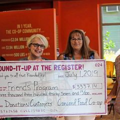 Concord Food Co-op's Round-it-Up at the Register program sends $6,700 to nonprofits