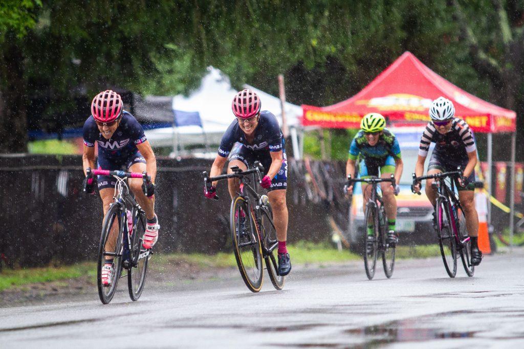 Scenes from the Women Cat 4/5 race during the Concord Criterium at White Park in Concord on Saturday, Aug. 4, 2018. (ELIZABETH FRANTZ / Monitor staff) ELIZABETH FRANTZ