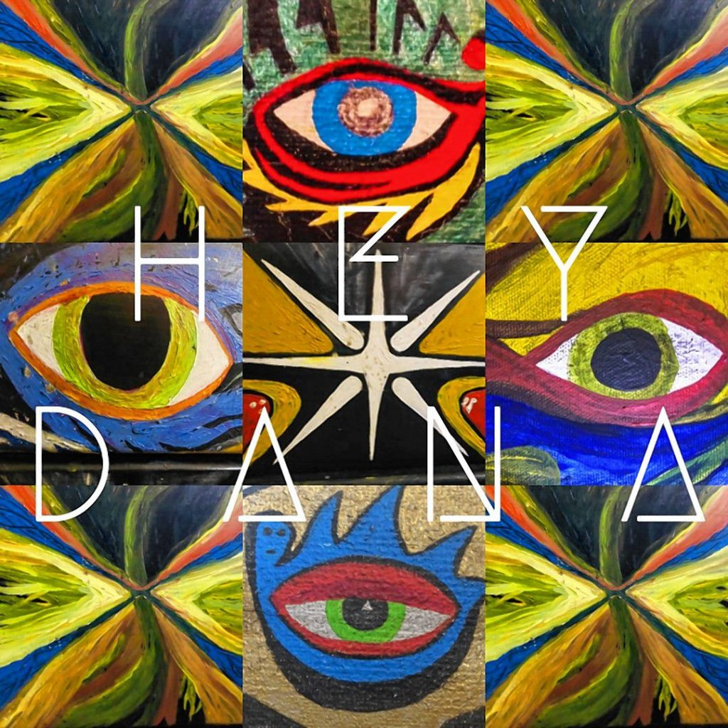 The self-titled debut album from Hey Dana.  Courtesy of Hey Dana music
