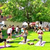 Making Good Health Simple: Don't miss the outdoor yoga session at Rock On Fest