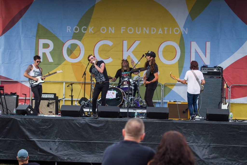 Dirty Bangs performs during the 2016 Rock On Fest at White Park in Concord on Saturday, Aug. 13, 2016. (ELIZABETH FRANTZ / Monitor staff) Elizabeth Frantz