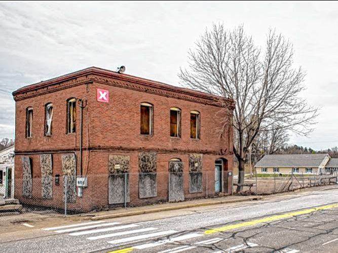 The Penacook Landing project is underway, with plans to turn the old, decrepit building into a new, modern facility.  Courtesy of City of Concord