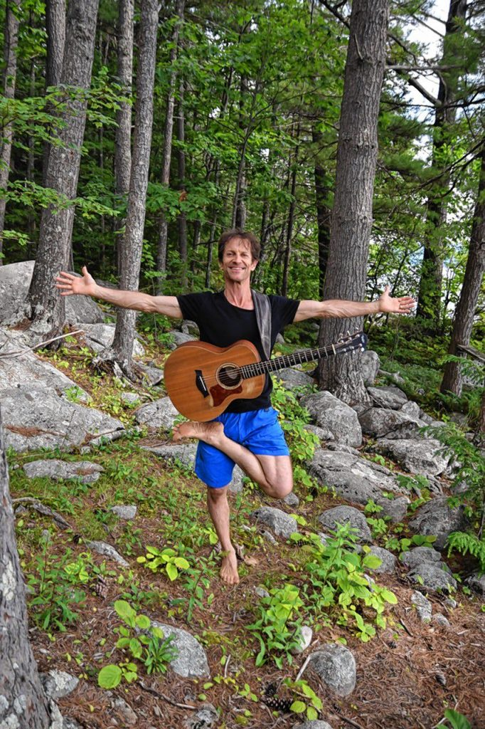 A good yoga session is a lot like a good song, says Mike Morris of Hot House NH Yoga & Pilates. Neither tries too hard to be anything -- they just exist. Courtesy of Mike Morris