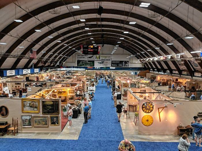 Everett Arena will host the Americana Celebration Antique Show on Tuesday, Aug. 6, from 8 a.m. to 4 p.m. Courtesy of City of Concord