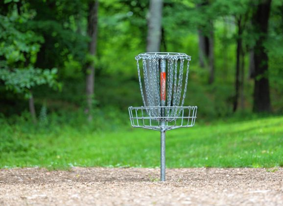 Always in the rough: Trying out a little disc golf