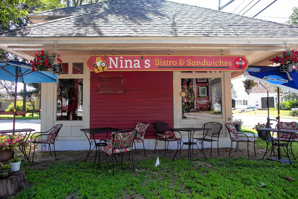 Nina's Bistro and Sandwiches on Hall Street in Concord took over from the Sandwich Depot. GEOFF FORESTER