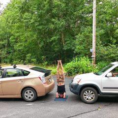 The Yogi: How to beat a traffic jam? Yoga