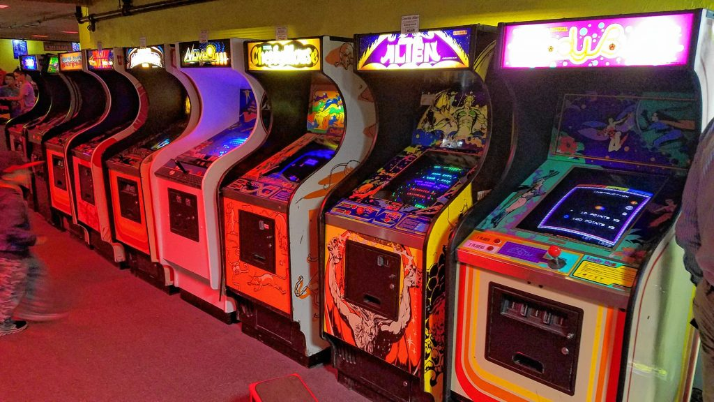 Funspot in Laconia is the self-proclaimed largest arcade in the world, with more than 600 games -- including 300 classic arcade games as well as the modern kind, plus bowling and indoor mini golf.  JON BODELL / Insider staff