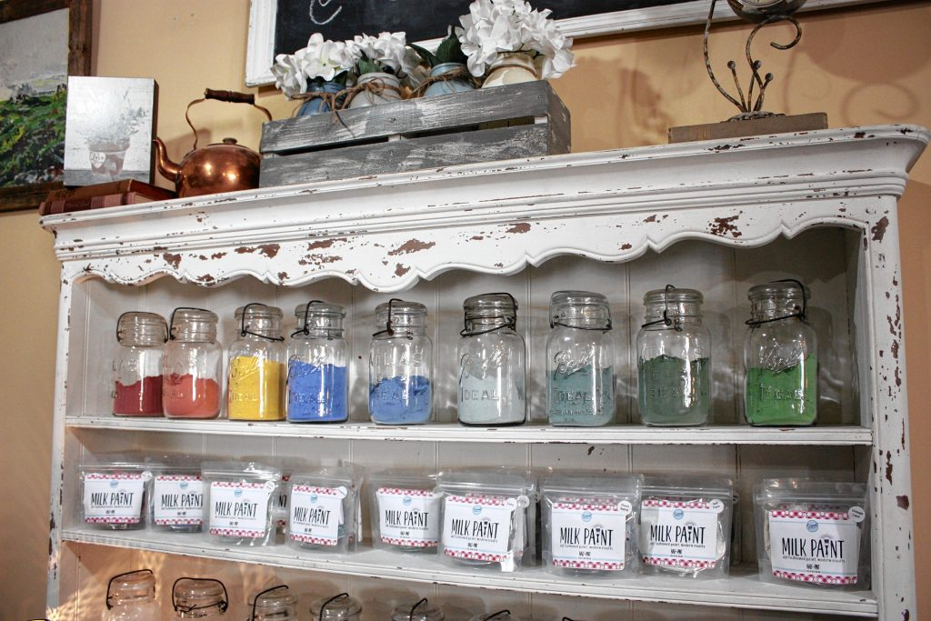 New Leaf in Laconia is a small shop that specializes in home decor items and handmade wares. JON BODELL / Insider staff