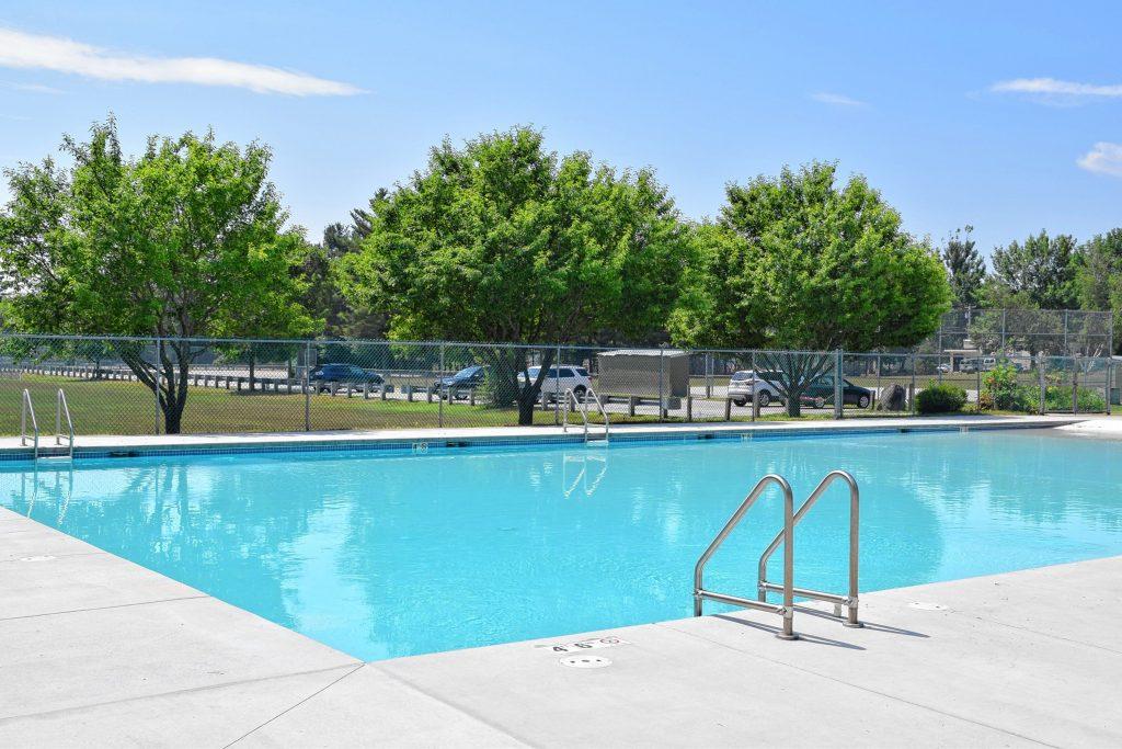 The Rolfe Park pool as seen last summer.