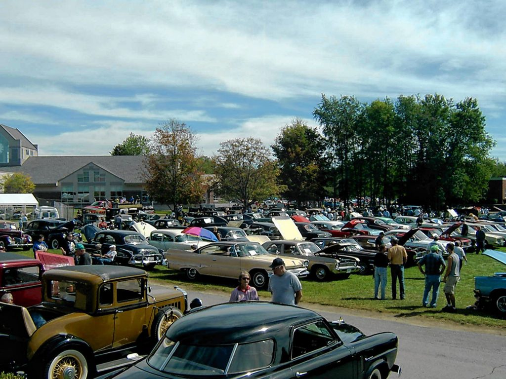 The Kiwanis Club of Concord will take over NHTI on Saturday for its 34th annual Antique & Classic Car Show, where you'll see about 400 cars of all makes, models, styles and years on display. Courtesy of Ken Georgevits