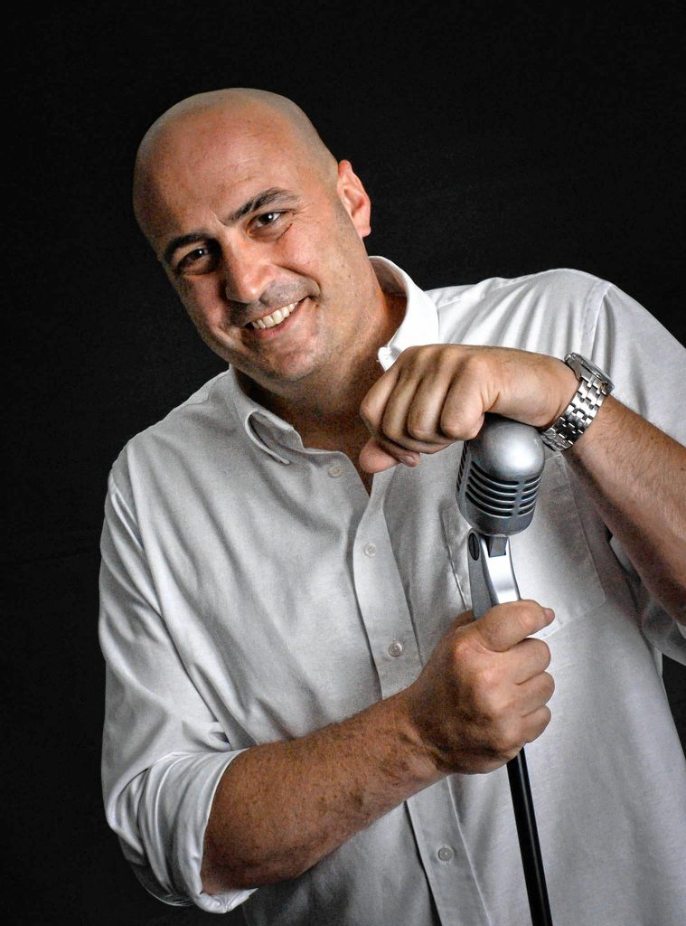 Comedian Mike Koutrobis will be the headliner of the next Comedy Club at Tandy's Pub show on Sept. 12. Courtesy of Doris Ballard