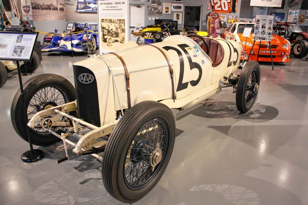 This 1915 Dusenberg is the oldest and most valuable car at the North East Motor Sports Museum. Owned by one of the board members, the car is worth between $6 million and $10 million, museum president Dick Berggren said. JON BODELL / Insider staff