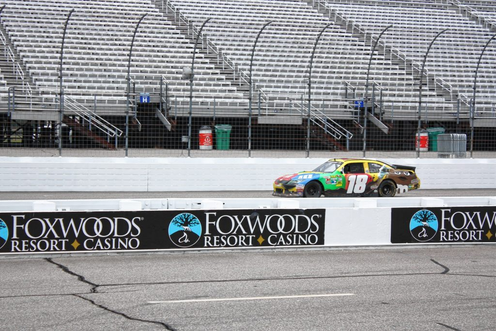 Here I am on one of my laps around the track at New Hampshire Motor Speedway. Christian Bodell / For the Insider