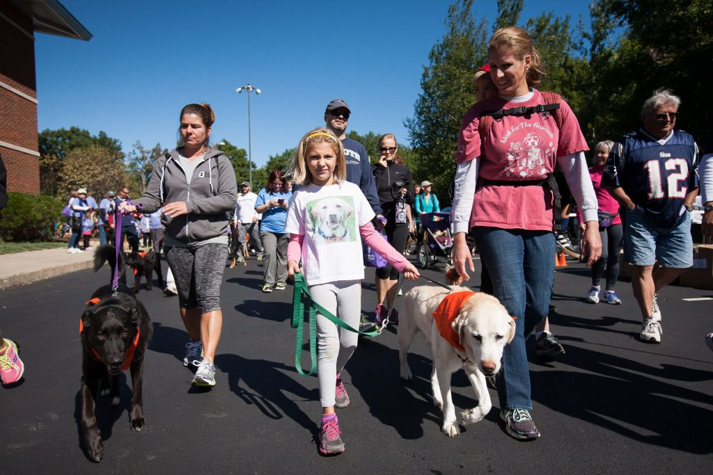 Pope Memorial SPCA's Walk for the Animals is a fun event for the whole family -- including the dogs. Courtesy of Pope Memorial SPCA