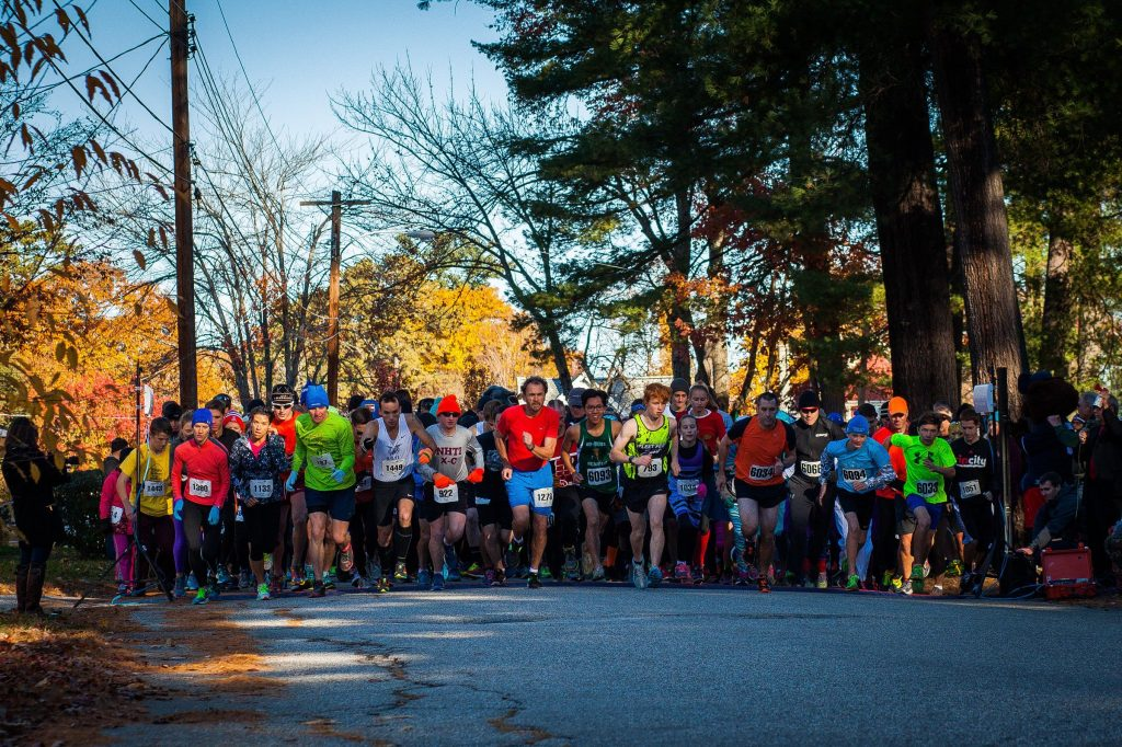 The Families in Transition Wicked FIT Run took place in Rollins Park in Concord, Saturday, Oct. 31, 2015.  (ELIZABETH FRANTZ / Monitor staff) ELIZABETH FRANTZ