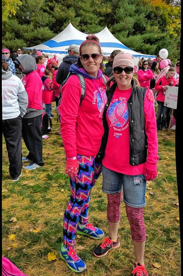 Michelle Audet, Community Development Manager with the American Cancer Society, will participate in her 10th Making Strides walk in Concord this year.  Courtesy of Michelle Audet