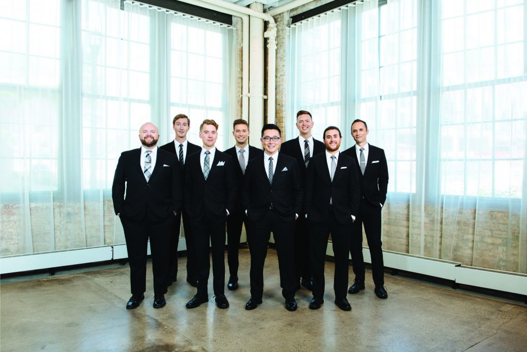 CourtesyCantusa versatile, male vocal group from Minneapolis-St. Paul, Minnesota, on Friday, November 1, at 7 p.m.