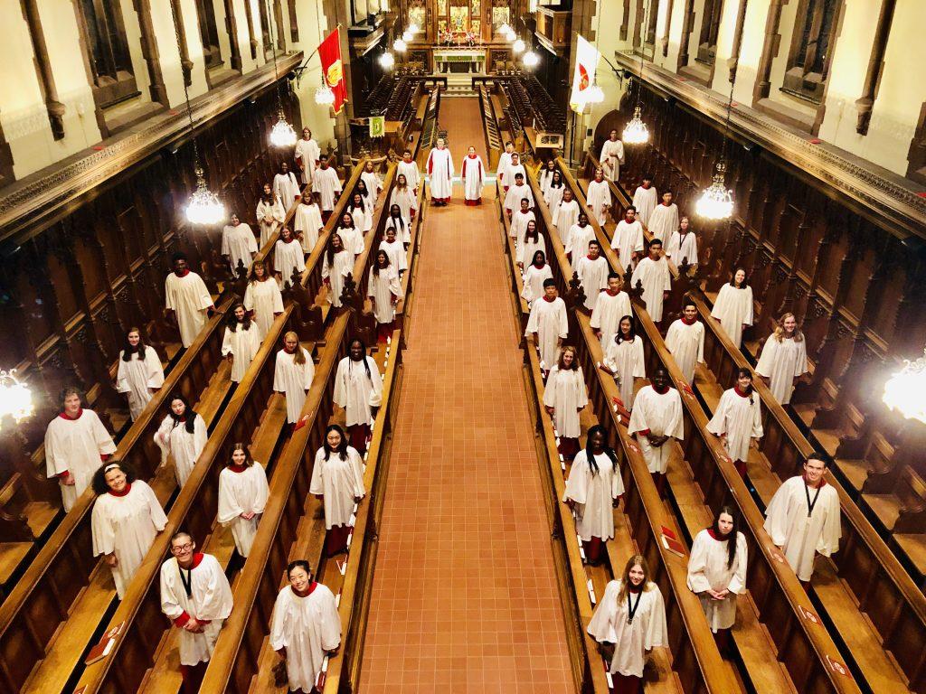 The St. Paul's School Chapel Choir performs Nov. 3.