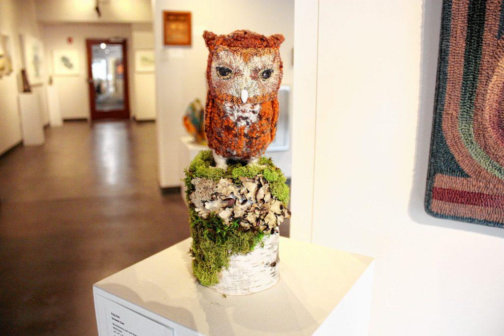 Screech Owl by Peg Irish. JON BODELL / Insider staff