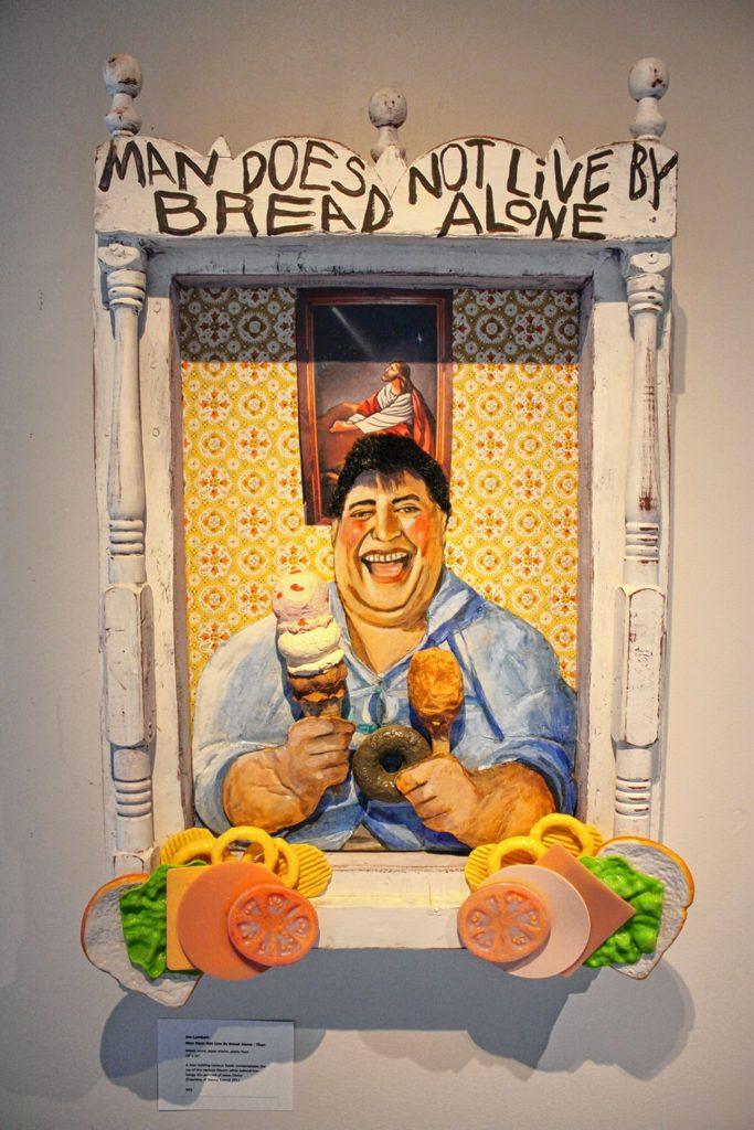 Man Does Not Live by Bread Alone - Then by Jim Lambert. JON BODELL / Insider staff