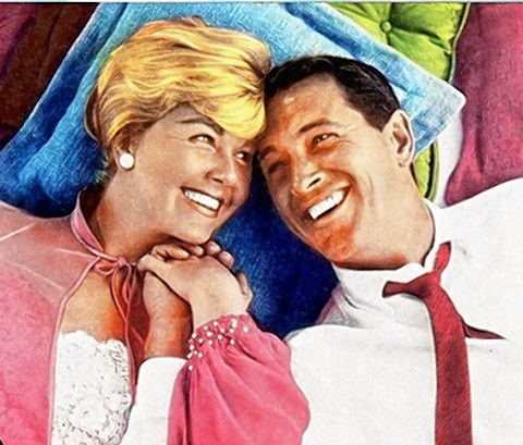 Pillow Talk, starring Doris uDay and Rock Hudson, will be shown at Concord Public Library on Friday, with a conversation with local author and longtime friend of Day's Paul Brogan. Courtesy of Concord Public Library