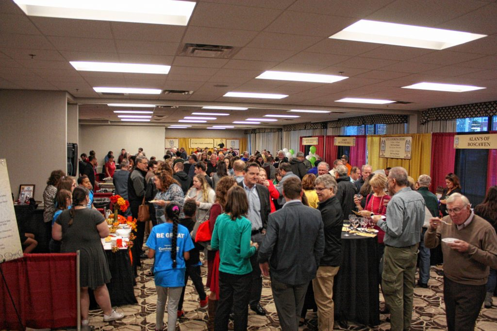 The Grappone Conference Center was packed to the gills Thursday night for the 14th annual Taste of New Hampshire event.  JON BODELL / Insider staff